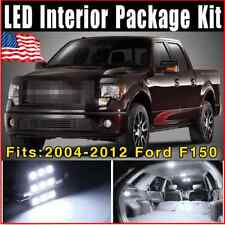 13 X White SMD LED Lights Interior Package Kit 2004-2012 For Ford F150