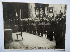 TRIESTE fascismo fascista Teatro Rossetti comizio elezioni 1929 foto Toresella