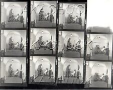 Old Fashion Dentist w Young Girl HENDRICKSON Negatives Photo Contact Sheet D757