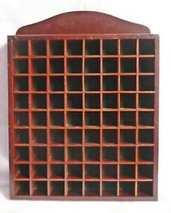Wooden Thimble display holder rack - Holds 72 thimble's. Green Velvet lined.No.2