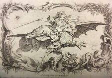 Acajou et Zirphile  miniature de 1744 par Nicolas II Cochin 1744