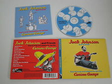JACK JOHNSON/SING-A-LONGS FOR: CURIEUX GEORGE(BRUSHFIRE 0602498796986) CD ALBUM