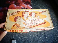Boite Ancien Billard l'Universel Flipper Plastique 1960 Pennytoys Jouet de Bazar