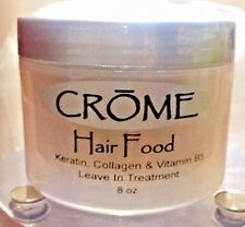 "CROMEHAIR FOOD leave in w keratin & collagen, vitamin B5 8oz ""AUTHENTIC PRODUCT"""