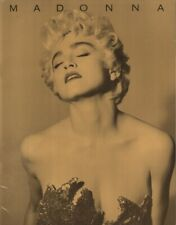 MADONNA 1987 WHO'S THAT GIRL U.S. TOUR CONCERT PROGRAM BOOK BOOKLET / EX 2 NMT