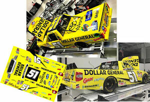 CD_2637-C  #51 Kyle Busch 2016 NASCAR Toyota Tundra  1:24 scale DECALS