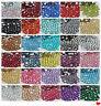 5000PCS Nail Art Flatback 41COLOR 14 Facets Resin Round Rhinestone Beads 2-6M #4