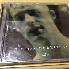 MORRISSEY - WORLD OF MORRISSEY CD (GC) BILLY BUDD, JACK THE RIPPER, BOXERS, LOOP