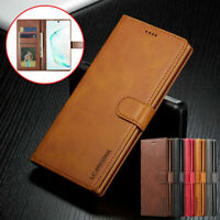 Magnetic Leather Wallet Case For Samsung Note 20 Ultra 10 9 8 Plus S20 S10 S9 S8