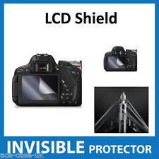 Canon 650D, Rebel T4i, Kiss X6i Dslr INVISIBLE LCD Screen Protector Shield