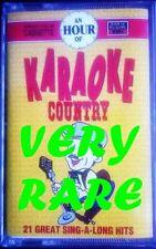 KARAOKE COUNTRY - 21 GREAT SING-A-LONG HITS,  Audio Cassette