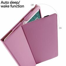 For iPad Pro 10.5 Poetic【SlimFolio Series】Stylish PU Leather Case Hot Pink
