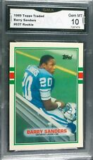 Barry Sanders Rookie,1989 Topps Traded GMA-10