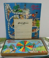 WONDER WOMAN BOARD GAME 1973 Hasbro- RARE- Vintage
