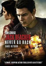 Jack Reacher: Never Go Back (DVD, 2016, Widescreen) Factory Sealed [New]