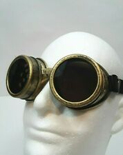 KBW Unique Dieselpunk Steampunk Riding Goggles Glasses with Rubber Band