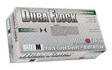 Microflex Dfk608M Dura Flock Nitrile Gloves M