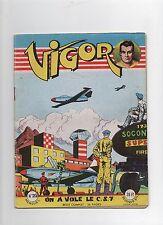 VIGOR n°25 - Artima 1956. Giordan. Seconde guerre mondiale. Superbe état.