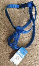 "Coastal Pet Products Adjustable Nylon Cat Dog Harness NWT New Blue 12"" USA New"