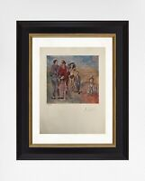 Pablo Picasso 1954 Original Print Hand Signed with Certificate. Resale $5,900