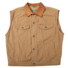 VGC Vintage MALBORO CLASSICS Sleeveless Jacket | Men's XL | Vest Gilet Denim