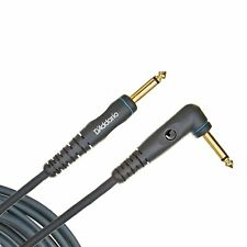 D'addario Custom Series 10 ft Guitar Instrument Cable Right Angle 90 Degree