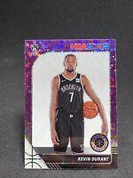 2019-20 NBA Hoops Premium Stock Rare Kevin Durant Purple Disco Prizm