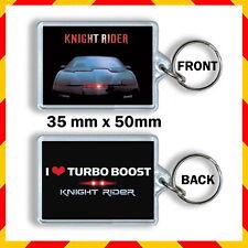 Knight Rider- KITT - David Hasselhoff -Knight Rider (1982 TV series) keyring 1