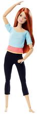 Barbie Snodata con Capelli Rossi 22 Punti Snodabili