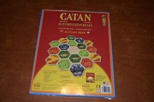 Catan Studios Autumn Catan Hex set Limited Release  New in Shrink