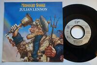 """JULIAN LENNON MIDNIGHT SMOKE 1986 PROMO JUKEBOX 7"""" GERMANY MINT UNPLAYED"""