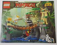 ~~LEGO THE NINJAGO MOVIE 70608 - INSTRUCTION MANUAL ONLY