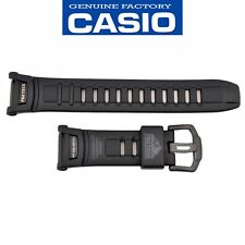 CASIO G-SHOCK Pro Trek Tough Solar Watch Band Strap PRG-130Y-1 Black Rubber