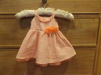 Koala Baby Boutique Hearts w tulle Dress Sz 6M Infant Girl-so adorable!
