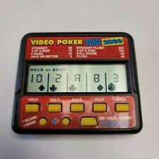 Radica Video Poker Royal Flush 2000 Electronic Handheld Poker Game Model 410