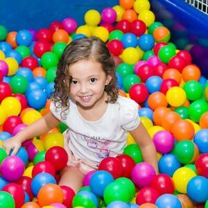 New 100pcs Baby Kids Soft Play Balls For Ball Pit Ocean Swim Pool Playpen Toy US