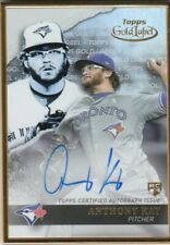 """2020 Topps Gold Label Baseball """"Autograph and Relic"""" Cards"""