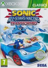 Xbox 360 Sonic & Und All-stars Racing Transformed SEGA Game for Xbox360
