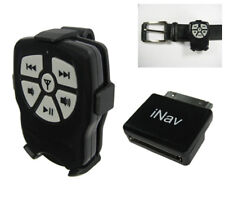 iNav Boss V2 RF wireless remote control with Belt Clip for iPod, Nano, iPhone