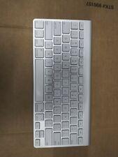 Apple Magic Wireless Keyboard - Model A1314 - Silver Tested Working