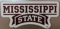 Mississippi State University Bulldogs Team Magnet Football Logo NCAA College