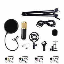 SCLS BM800 Condenser Microphone Kit Studio Microphone Vocal Recording KTV