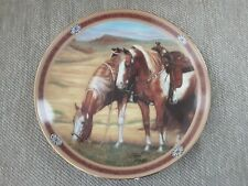 Horse Plate, Painted Heights, On The Range, Susie Morton