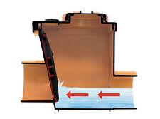 Anti-Flood Valve D110mm  Orange - Back Flow Prevention - One Way Sewage Valve