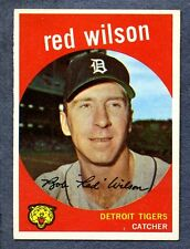 1959 Topps #24 Red Wilson - Detroit Tigers   Ex/Mt