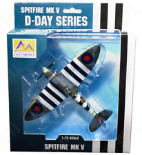 Easy Model 33303 Spitfire MK V Ab910 R.a.f. D-day Pre Painted & Assembled 1 72