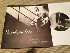 "NAPOLEON SOLO - ONCE IN A LIFETIME + ECHOES 7"" SINGLE CANADA SYNTH POP"