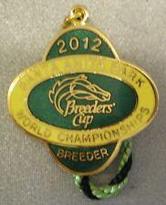 SANTA ANITA 2012 BREEDERS CUP CHAMPIONSHIPS Enamel Badge HORSE RACING RACECOURSE