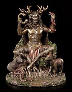 Cernunnos Figur - Keltischer Gott mit Tieren - Statue Veronese Herne
