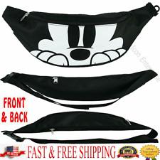 Disney Belly Bag Mickey Peeking Waist Pack Standing Original